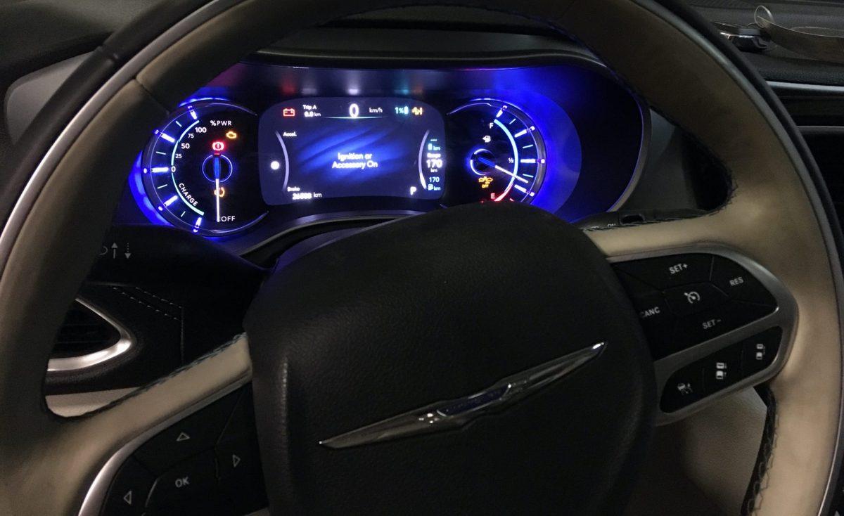 Chrysler Pacifica Plug In Hybrid