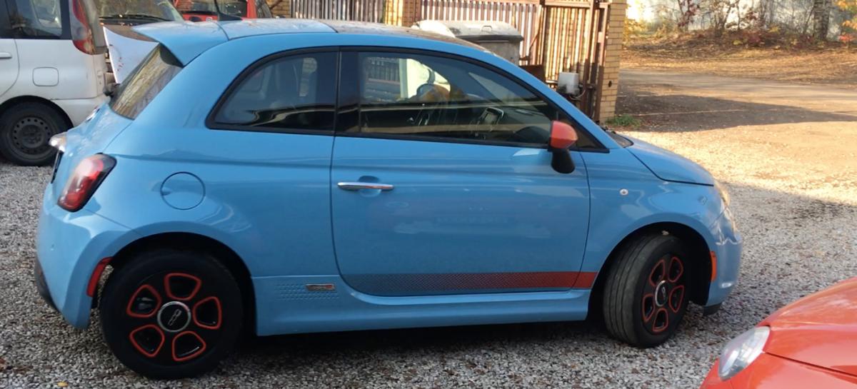 Fiat 500e po nieudanej aktualizacji U69