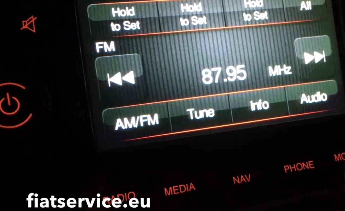 Konwersja Radia 500e na Europe
